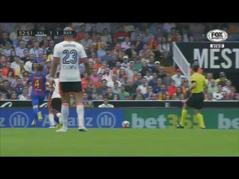 Valencia vs Barcelona 2 3 All Goals 22 10 2016 HD