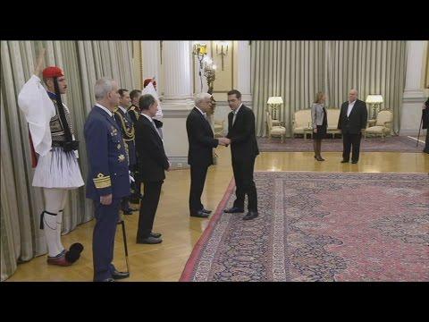 Ευχές στον Πρόεδρο της Δημοκρατίας, παρουσία της πολιτικής και πολιτειακής ηγεσίας