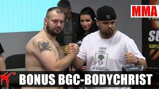 """Bonus BGC i Bodychrist na oficjalnym ważeniu przed walką! """"To będzie prawdziwe show"""""""
