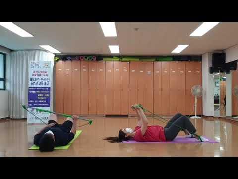 8월 비대면 체육지도영상 - 짐스틱 타바타 2탄 (구본욱 지도자)