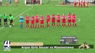 Argos Girls Soccer vs. Mississinewa