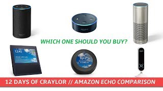Which Amazon Echo Should you Buy? | Day 2