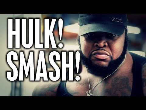 "HULK SMASH!  CT FLETCHER INTRODUCES ""DA HULK"""
