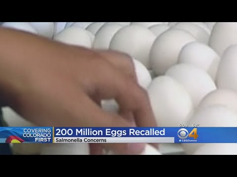 Recall Of 200 Million Eggs Affects Colorado