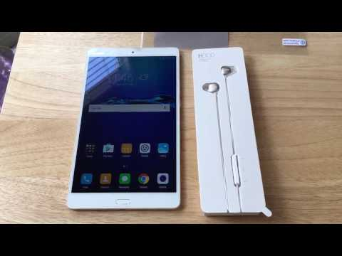 Huawei MediaPad M3 4G LTE Unlocked Android Tablet Unboxing 12-11-16