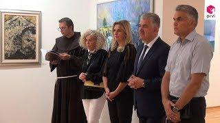 Premijer Herceg otvorio izložbu u čast fra Didaku Buntiću