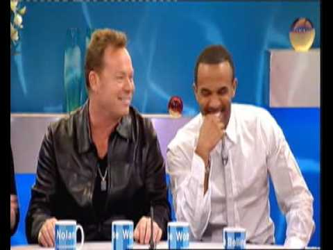 Ali Campbell and Craig David on Loose Women 24th June 2009