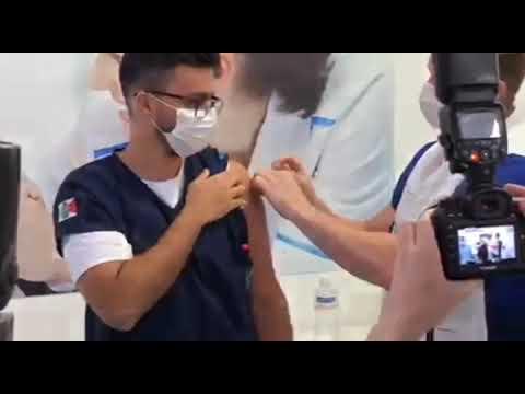 Começa vacinação contra a Covid-19 em Palhoça