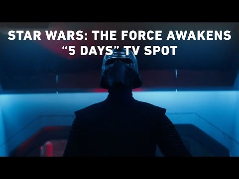 Star Wars The Force Awakens  5 Days  TV Spot