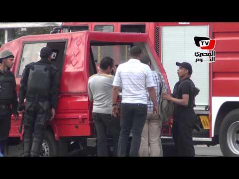 القبض على مشتبه بهم بعد انفجار قنبلة في محيط جامعة القاهرة