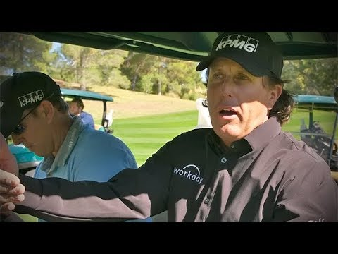 The Match: Phil Mickelson scou …