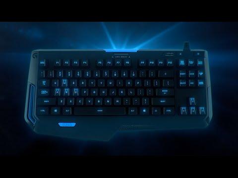 Logitech Compact Mechanical Gaming Keyboard Atlas Dawn G310 (Black)