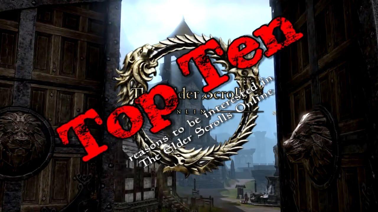 Elder Scrolls Online: видео - 10 причин поиграть в The Elder Scrolls Online