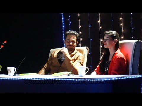 Emraan Hashmi and Amyra Dastur on the sets of BBC's Kaisi Yeh Yaariyan