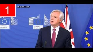 David Davis & Michel Barnier have began Formal Brexit Talks