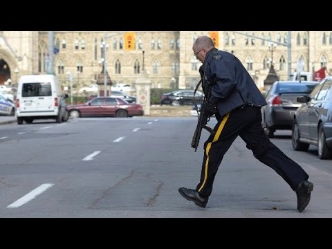 dies - Multiple gunmen attacked several locations in Ottawa, including the main Canadian Parliament building.