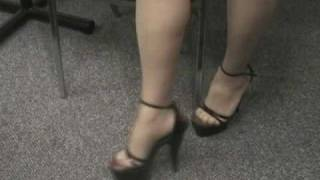 Sexy Legs In Seamed Stockings