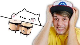 ESTOU VICIADO NESSE MEME ☆ Bongo Cat ☆
