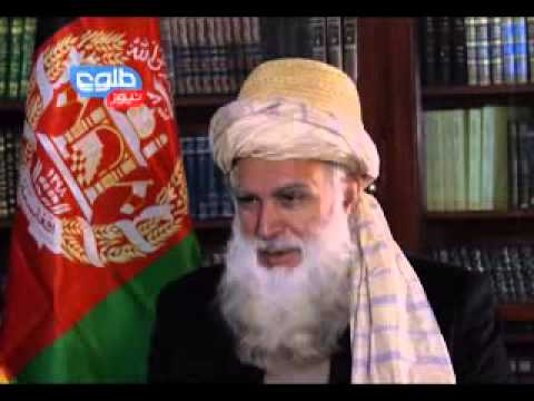 abdul - A TOLOnews exclusive interview with Presidential candidate Abdul Rab Rassoul Sayyaf, former MP.