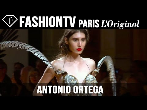 Fashion - http://www.FashionTV.com/videos PARIS - See Antonio Ortega's debut haute couture runway show during Paris Couture Fashion Week Fall/Winter 2014-15. For franchising opportunities with FashionTV,...