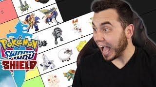 The BEST SWORD and SHIELD POKEMON! Ranking All Galar Pokemon for Sword and Shield! by aDrive