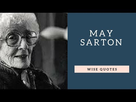 Family quotes - May Sarton Saying & Quote  Positive Thinking & Wise Quotes Salad  Motivation  Inspiration