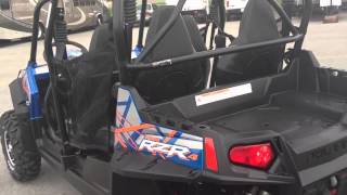 1. 2013 Polaris Ranger RZR 4 800 EPS LE In Two-tone Blue Fire / Orange At Tommy's MotorSports