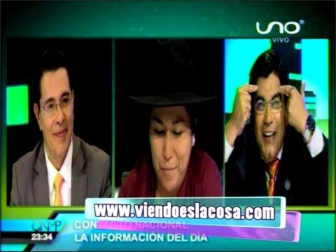 Cruce de palabras entre la ministra Marianela Paco y Enrique Salazar