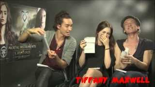 Nonton The Mortal Intruments : City Of Bones Cast - Funny Moments (Part 3) Film Subtitle Indonesia Streaming Movie Download