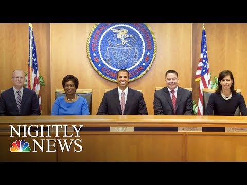 FCC To Vote On Barack Obama-Era Net Neutrality Rules This Week | NBC Nightly News