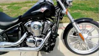 5. Overview and Review: 2012 Kawasaki Vulcan 900 Custom in Pearl Purplish Black Mica!