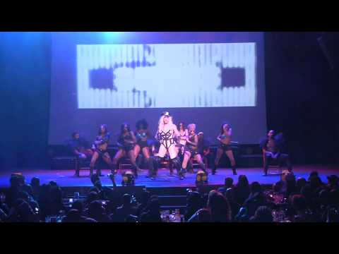 TATIANNA performs @ A Drag Salute To The Divas as Britney Spears @ The Howard Theatre 10-10-2012