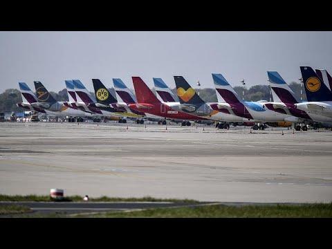 """Covid-19: Στον """"αέρα"""" η τύχη των αερογραμμών  – Ζημίες 481 εκατ. ευρώ για την Airbus…"""