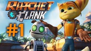 Ratchet & Clank 2016 Gameplay Walkthrough Part 1 - INTRO (PS4)