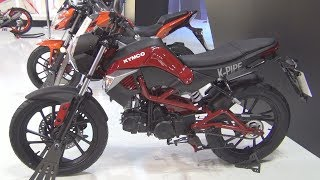 7. Kymco K-Pipe 125 (2017) Exterior and Interior