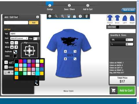 T-Shirt Design Software (All-in-one Product Designer) - Deprecated