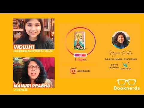 Instagram Live   Author Manjiri Prabhu   The Adventures of Mithoo