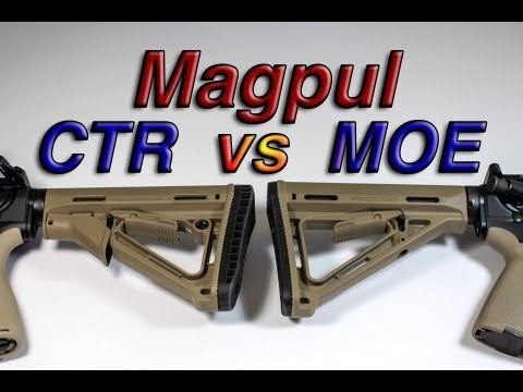 Magpul - The MOE and CTR stocks are similar except for the addition of the friction lock and QD mount on the CTR stock. CTR. $58.49 http://www.amazon.com/gp/product/B...