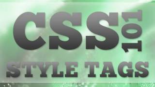 Dreamweaver Tutorial: Basics Of CSS: Styling Tags