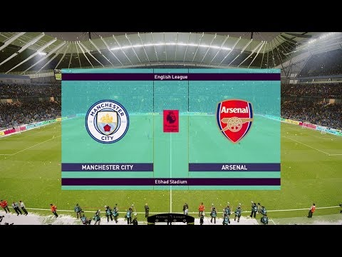 Manchester City Vs Arsenal - EPL 3 February 2019 Gameplay