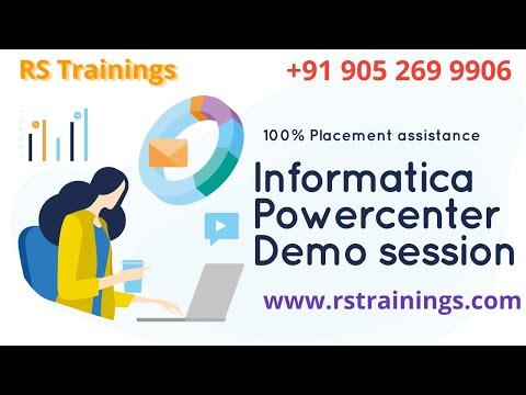 Informatica Demo Video