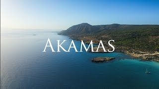 Crystal clear blue waters of Akamas