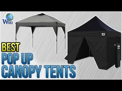 10 Best Pop Up Canopy Tents 2018