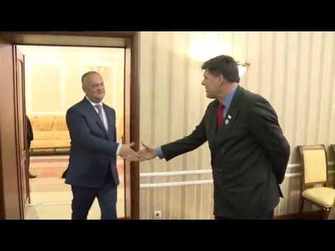 Președintele Republicii Moldova, Igor Dodon, a avut o întrevedere cu adjunctul Administratorului Biroului USAID pentru Europa şi Eurasia, domnul Brock Bierman