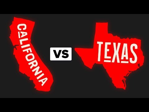 Texas VS California - How Do They Compare?