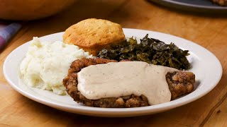 How To Make Country Fried Steak and Gravy • Tasty by Tasty