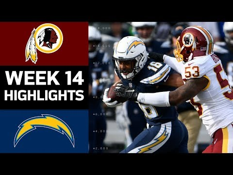 Video: Redskins vs. Chargers | NFL Week 14 Game Highlights