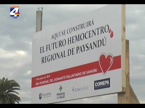 Presentaron proyecto del Hemocentro regional a construirse en Paysandú