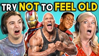 Video ADULTS REACT TO TRY NOT TO FEEL OLD CHALLENGE #4 MP3, 3GP, MP4, WEBM, AVI, FLV Maret 2018