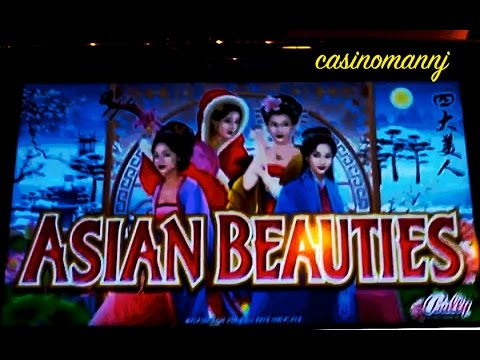Asian Beauties - MAX BET! - Slot Machine Bonus